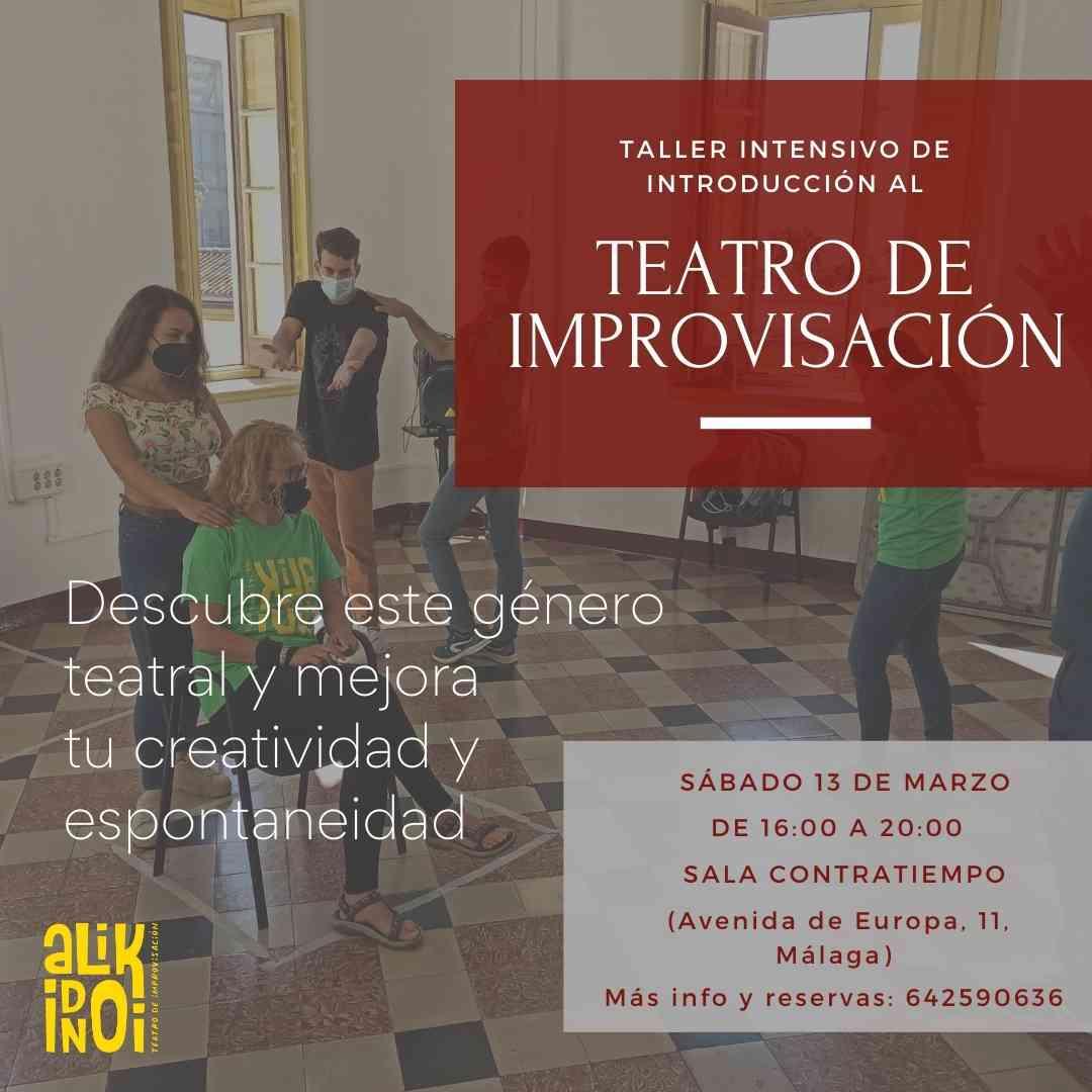 taller intensivo de teatro malaga